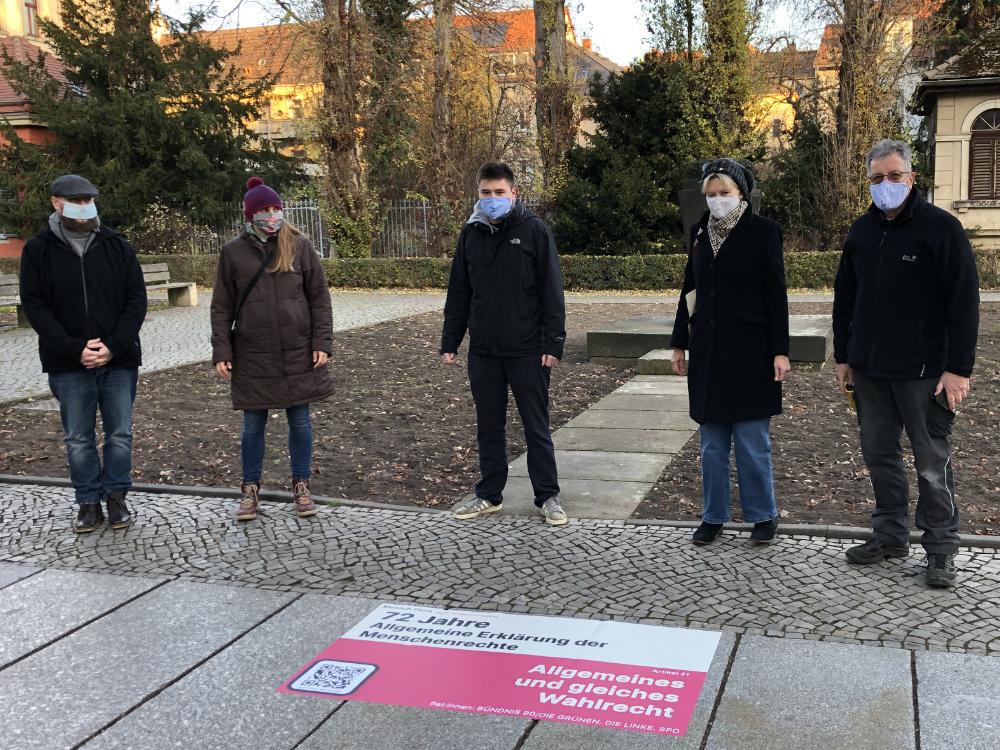 Jan Hamisch, Ina Richter, Fabian Funke, Bärbel Falke, Dieter Wiebusch (v.l.n.r.)